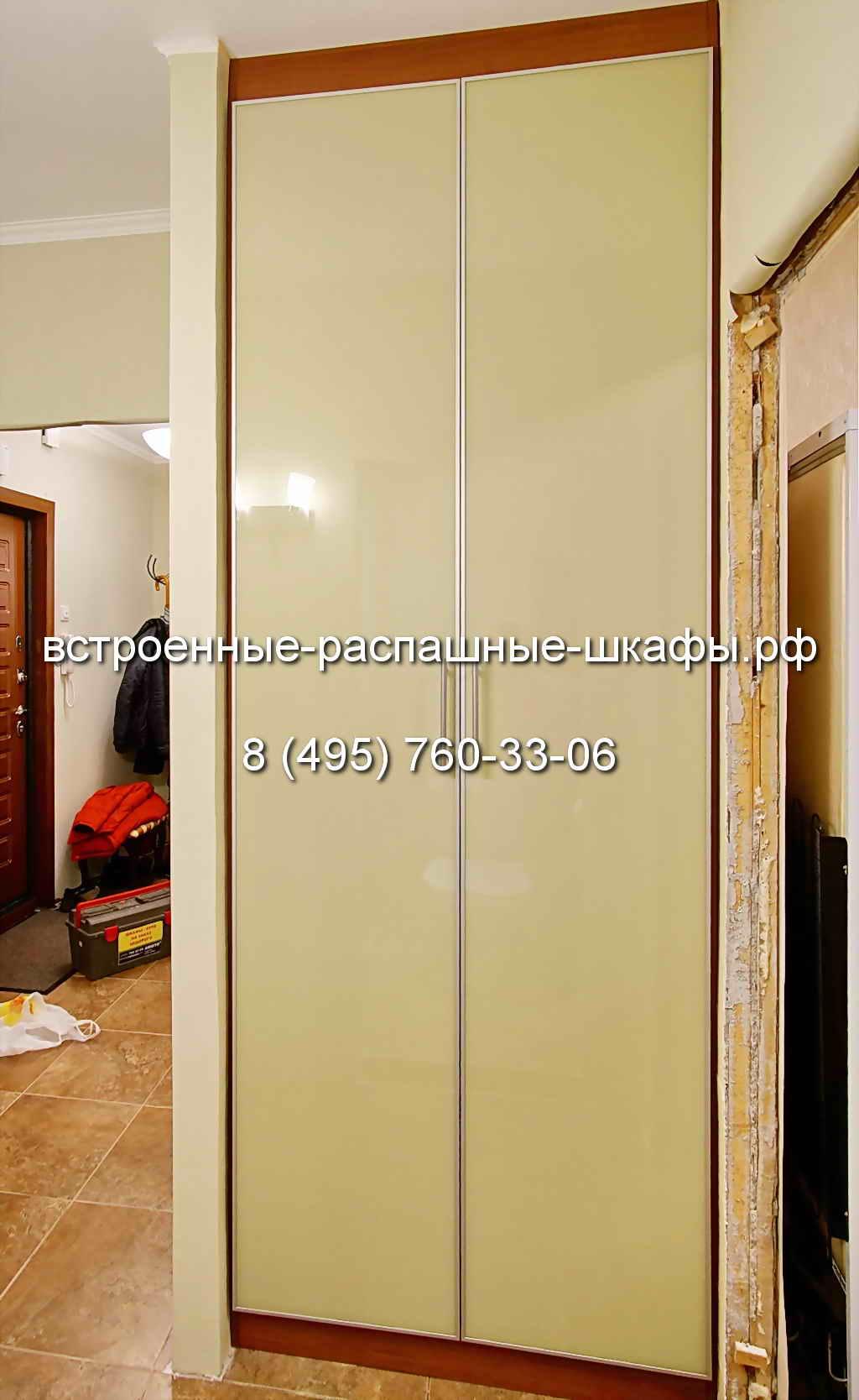 Двери-распашные-в-нишу-07 - встроенные-распашные-шкафы.рф.
