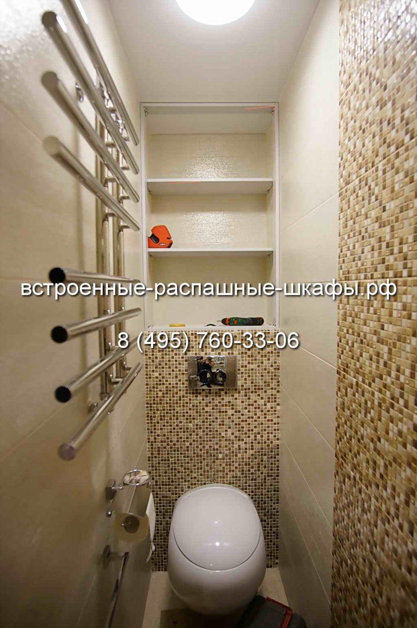 Встроенный шкаф для туалета своими руками фото